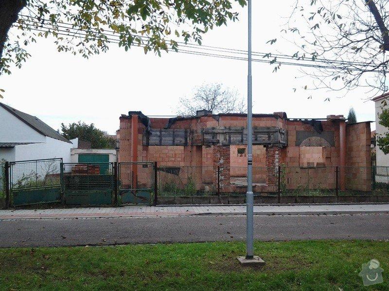 Zednické práce, přestavba RD: 20141024_143438