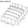 Stavebni firma na spodni stavbu podlahu a bet zed model ocelove konstrukce