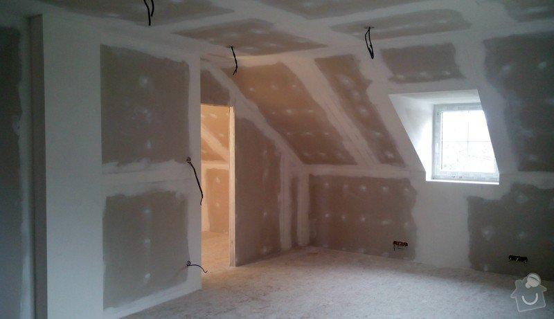 Rekonstrukce půdních prostor sádrokartonem: IMG_20141017_143851