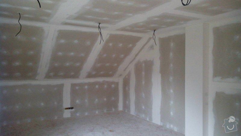 Rekonstrukce půdních prostor sádrokartonem: IMG_20141017_143827