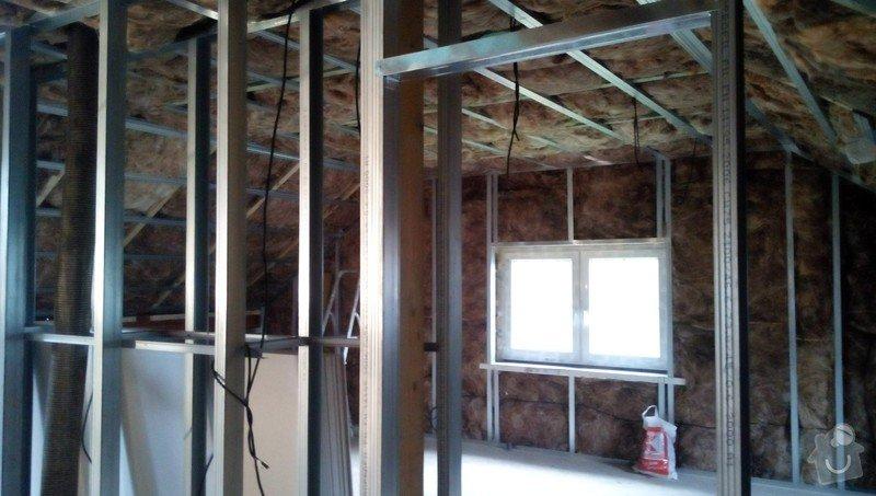 Rekonstrukce půdních prostor sádrokartonem: IMG_20140923_084144