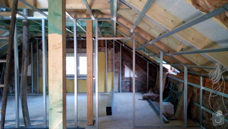 Rekonstrukce půdních prostor sádrokartonem: IMG_20140905_160458