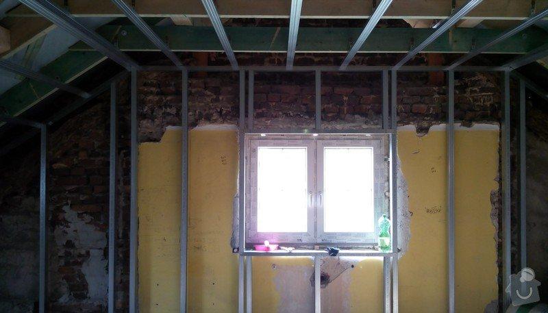 Rekonstrukce půdních prostor sádrokartonem: IMG_20140903_144032