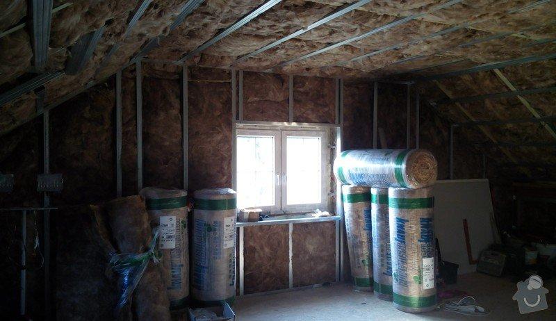 Rekonstrukce půdních prostor sádrokartonem: IMG_20140905_160430