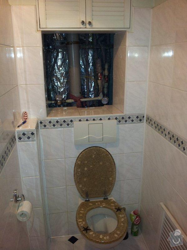 Oprava průsaku vody nejspíš z WC, panelový dům: IMG_20141110_185930