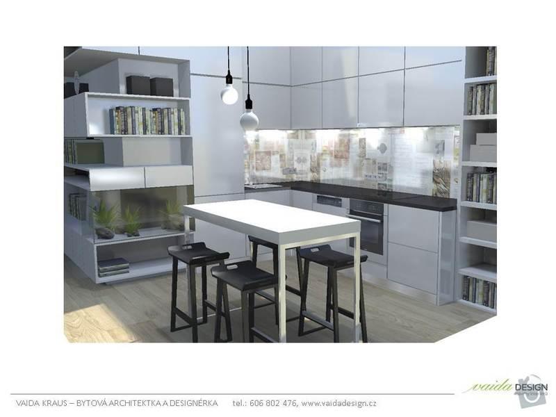 Interiérové řešení bytu - interiérový design: Snimek2