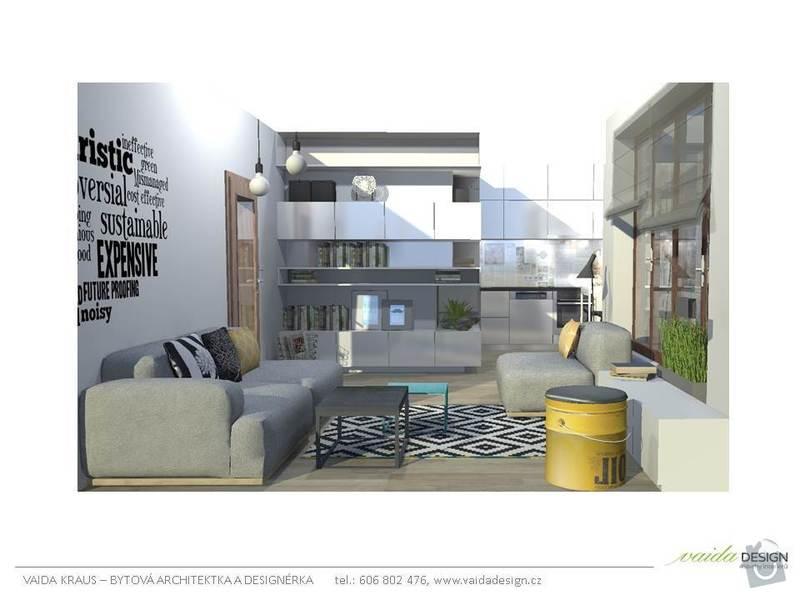 Interiérové řešení bytu - interiérový design: Snimek5