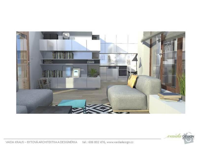 Interiérové řešení bytu - interiérový design: Snimek6