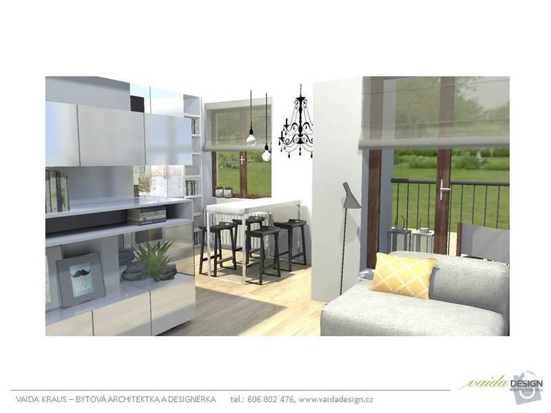 Interiérové řešení bytu - interiérový design: Snimek7
