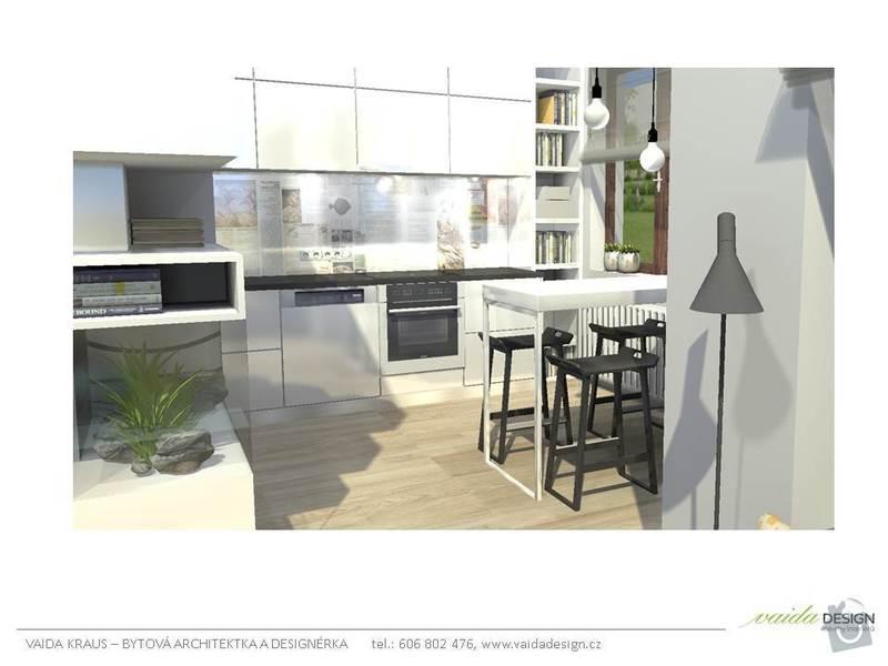Interiérové řešení bytu - interiérový design: Snimek8
