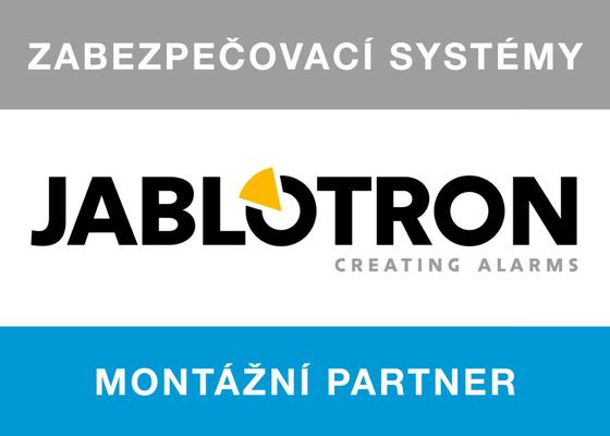 Dodávka a montáž Elektronického zabezpečocacího systému Jablotron JA-100.