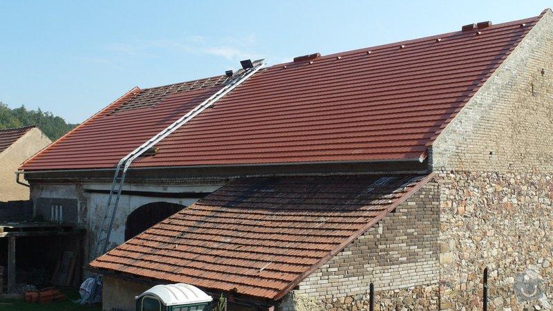 Stodola - rekonstrukce střechy: SAM_1782
