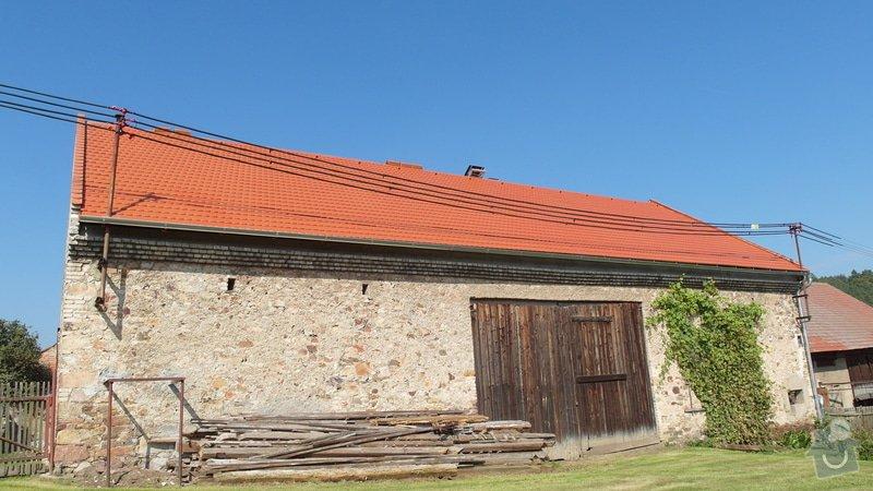 Stodola - rekonstrukce střechy: SAM_1784