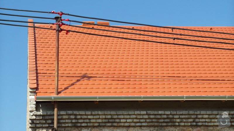 Stodola - rekonstrukce střechy: SAM_1785