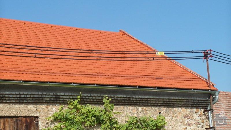 Stodola - rekonstrukce střechy: SAM_1786