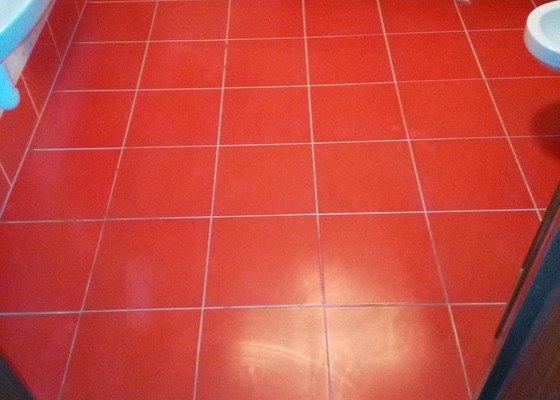 Podlahové topení+dlažba