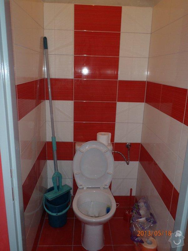 Rekonstrukce koupelny a WC, kuchyně: P5180200