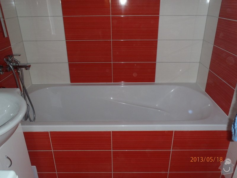 Rekonstrukce koupelny a WC, kuchyně: P5180202