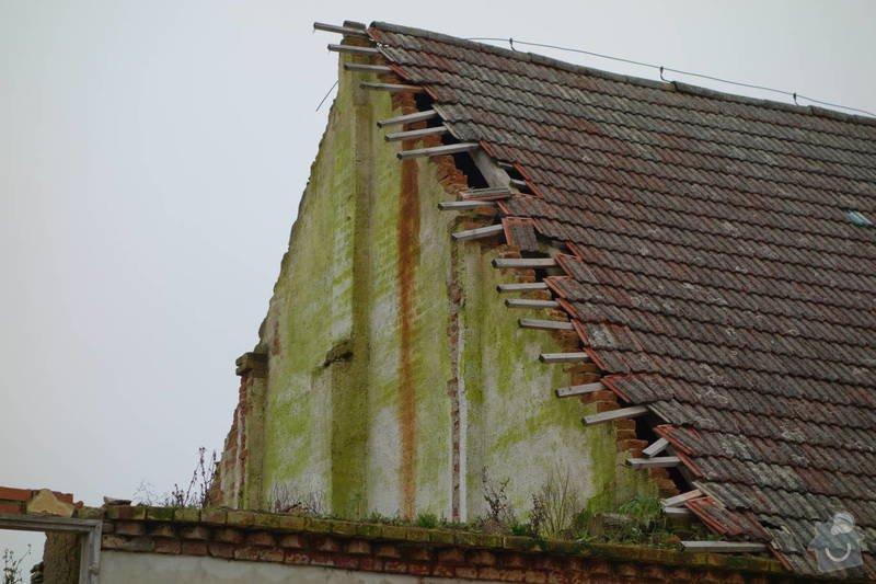 Posouzeni stavu stresni konstrukce a krytiny, oprava: severo-vychod