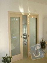 Instalace posuvných dveří vč. obložky: dvere