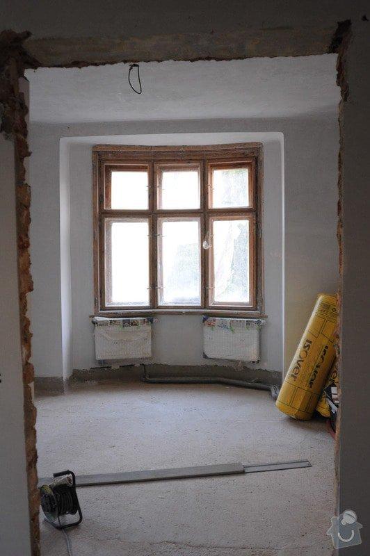 Renovace špaletových oken, vložení izolačních skel: 01