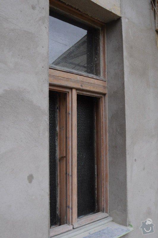 Renovace špaletových oken, vložení izolačních skel: 02b