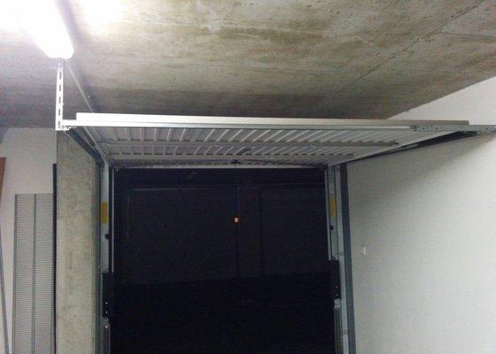 Dodani a instalace automatickeho pohonu garazovych vrat