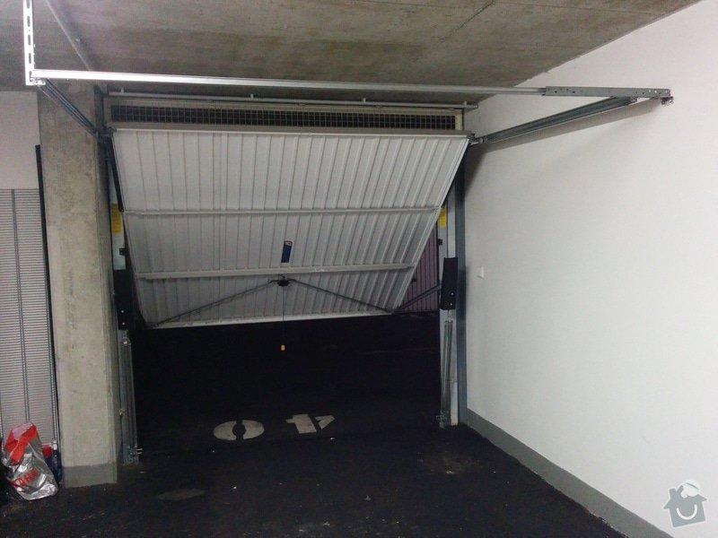 Dodani a instalace automatickeho pohonu garazovych vrat: IMG_20141112_214246