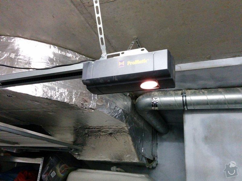 Dodani a instalace automatickeho pohonu garazovych vrat: IMG_20141112_215038