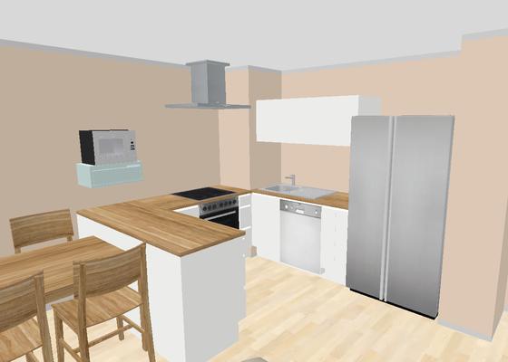 Navrh a vyroba kuchynske linky