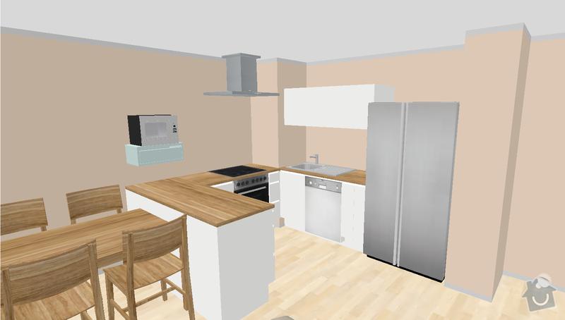 Navrh a vyroba kuchynske linky: kitchen-design