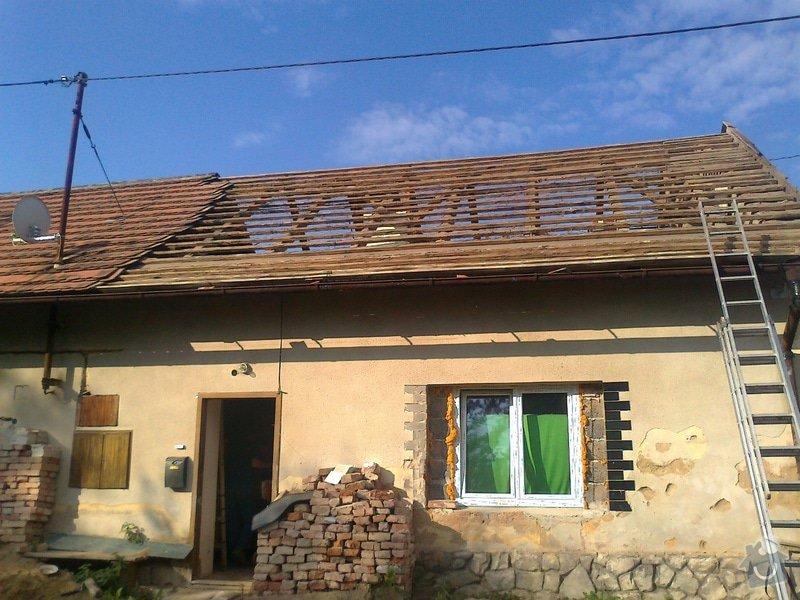 Rekonstrukce střechy: Fotografie0735