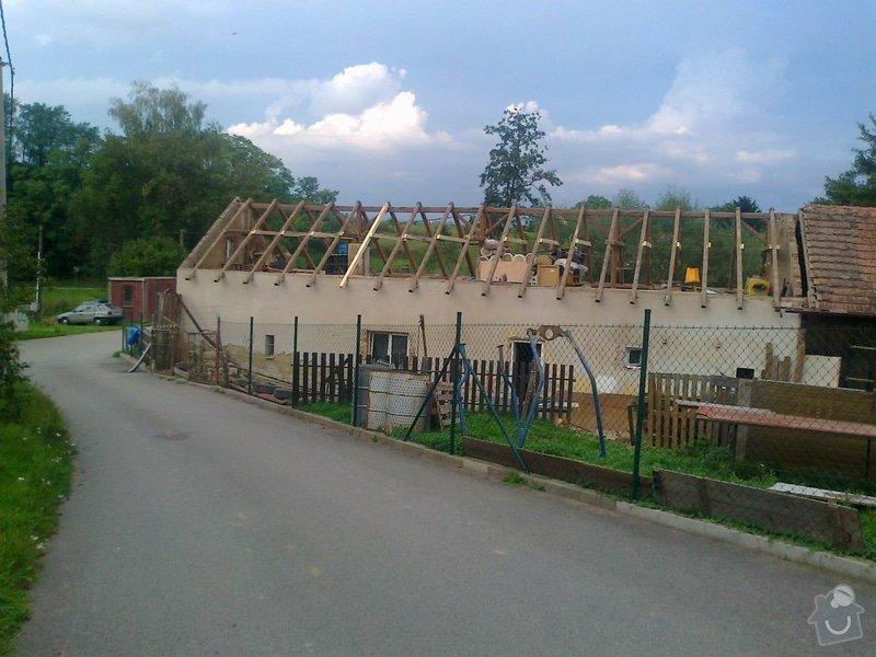 Rekonstrukce střechy: Fotografie0752