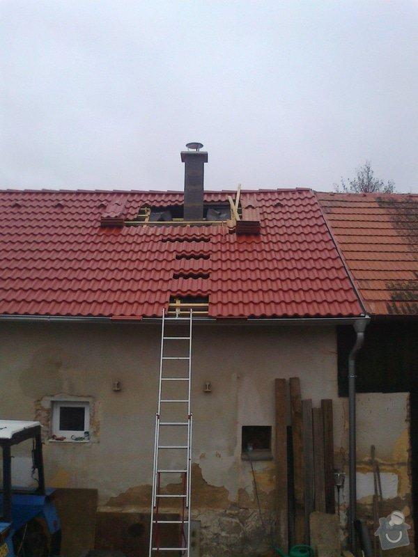 Rekonstrukce střechy: Fotografie0939