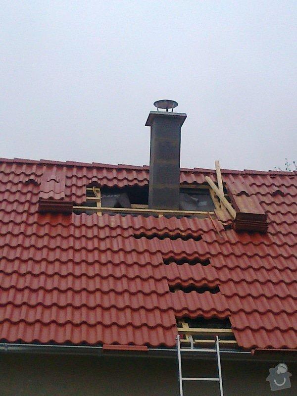Rekonstrukce střechy: Fotografie0941