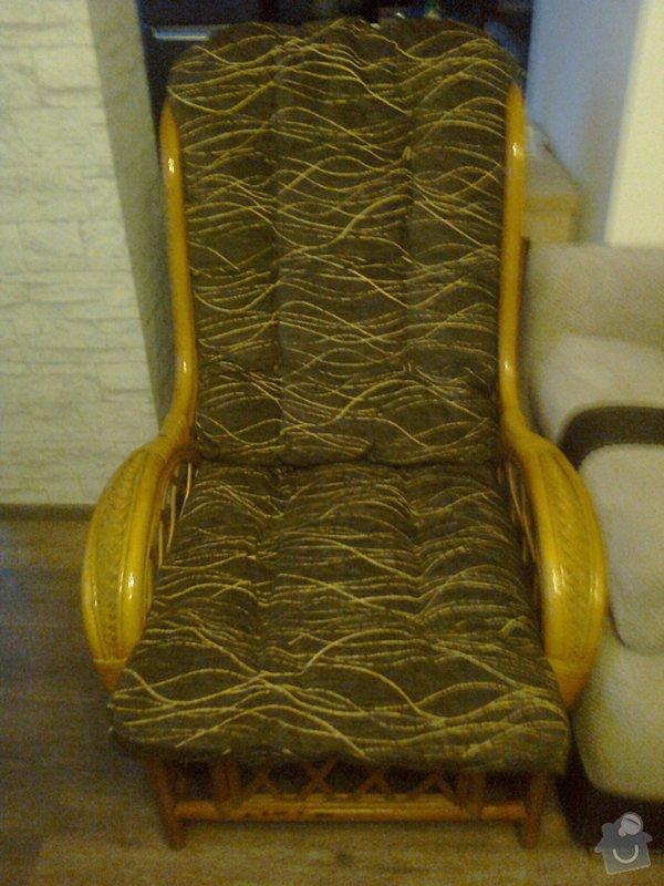 Čalounické práce - 4 židle + 2 křesla: Fotografie0661