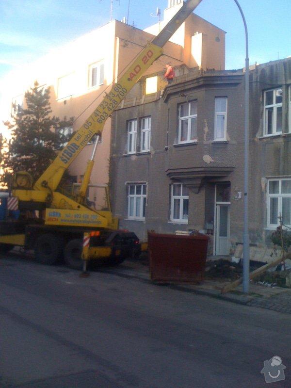 Nástavba 2 pater (4 bytů) na bytovém domě na klíč: IMG_1059