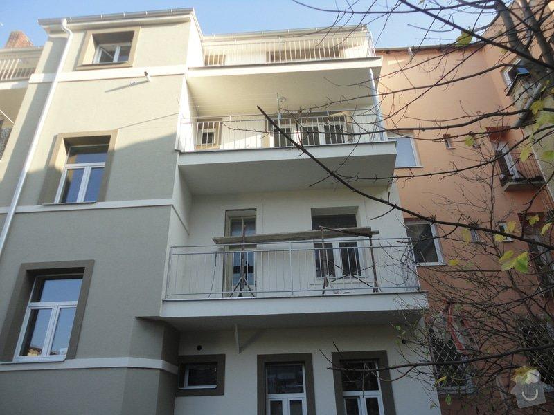 Nástavba 2 pater (4 bytů) na bytovém domě na klíč: DSC07630