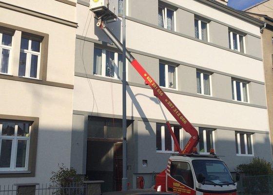 Zateplení a provedení nové fasády bytového domu