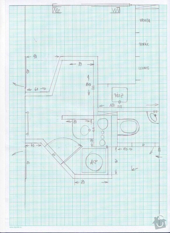 Pokládka obkladů a dlažby - bytové jádro: finalni_jadro
