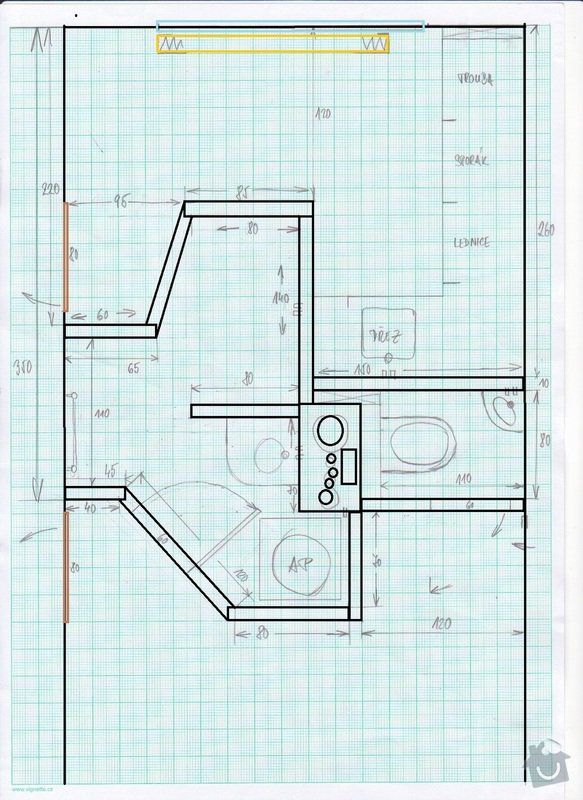 Rekonstrukce jádra - panelákové jádro: finalni_jadro_-_koty