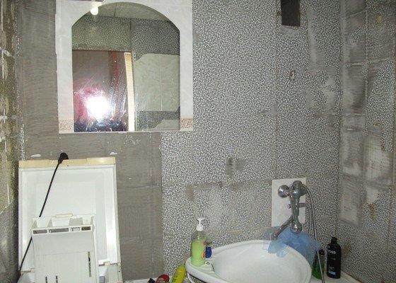 Celková rekonstrukce bytového jádra, obkladačské práce, sádrokartonářské práce, instalatérské práce