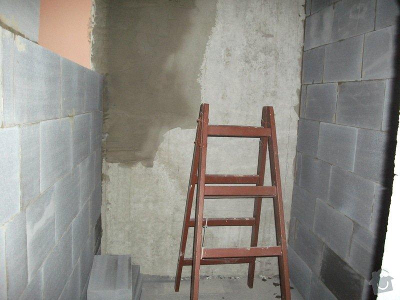 Celková rekonstrukce bytového jádra, obkladačské práce, sádrokartonářské práce, instalatérské práce: DSCF3684