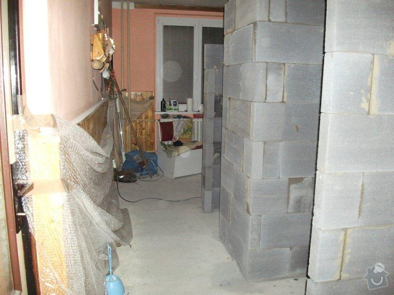 Celková rekonstrukce bytového jádra, obkladačské práce, sádrokartonářské práce, instalatérské práce: DSCF3686