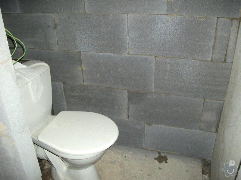 Celková rekonstrukce bytového jádra, obkladačské práce, sádrokartonářské práce, instalatérské práce: DSCF3688