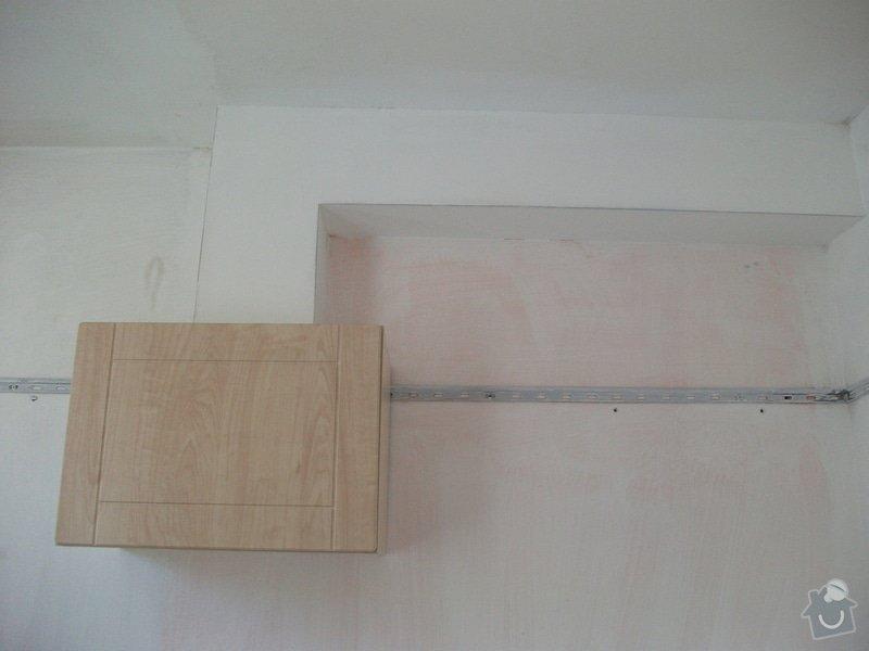 Celková rekonstrukce bytového jádra, obkladačské práce, sádrokartonářské práce, instalatérské práce: DSCF3690