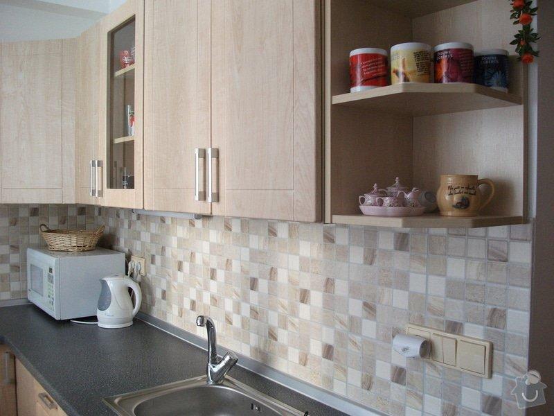 Celková rekonstrukce bytového jádra, obkladačské práce, sádrokartonářské práce, instalatérské práce: DSCF3698