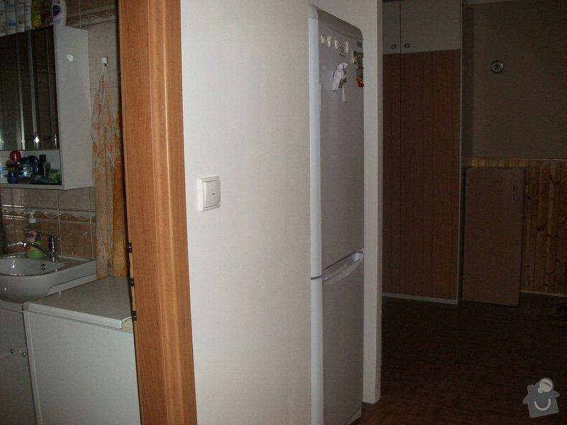 Celková rekonstrukce bytového jádra, obkladačské práce, sádrokartonářské práce, instalatérské práce: DSCF3703