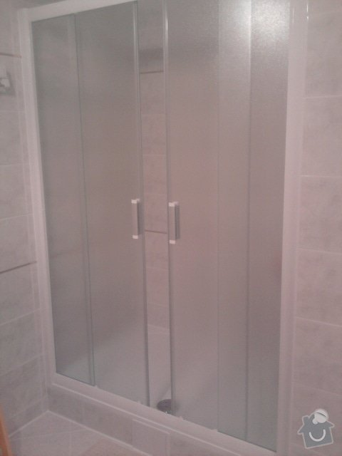 Výměna vany za sprchový kout: Fotografie1174