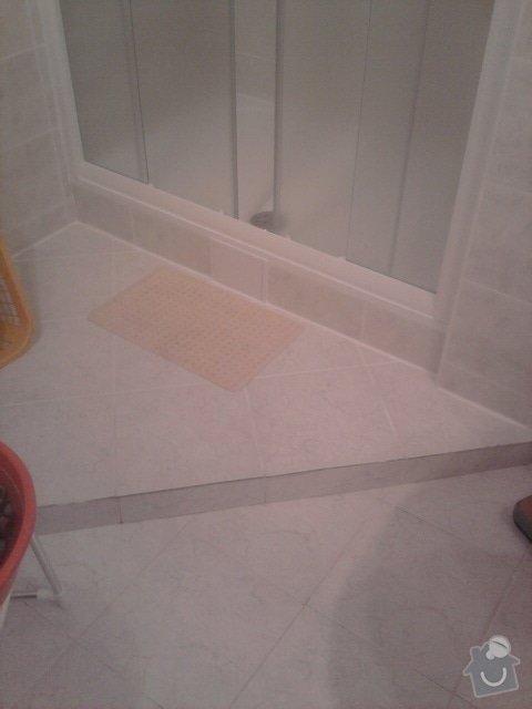 Výměna vany za sprchový kout: Fotografie1176